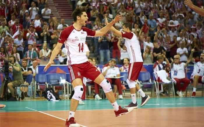 لیگ ملتهای والیبال؛ لهستان در اوج باقی ماند