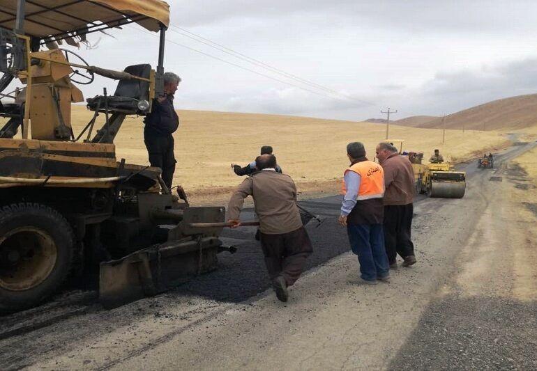 اجرای یک و نیم کیلومتر از عملیات روسازی پروژه واریانت میشخاص