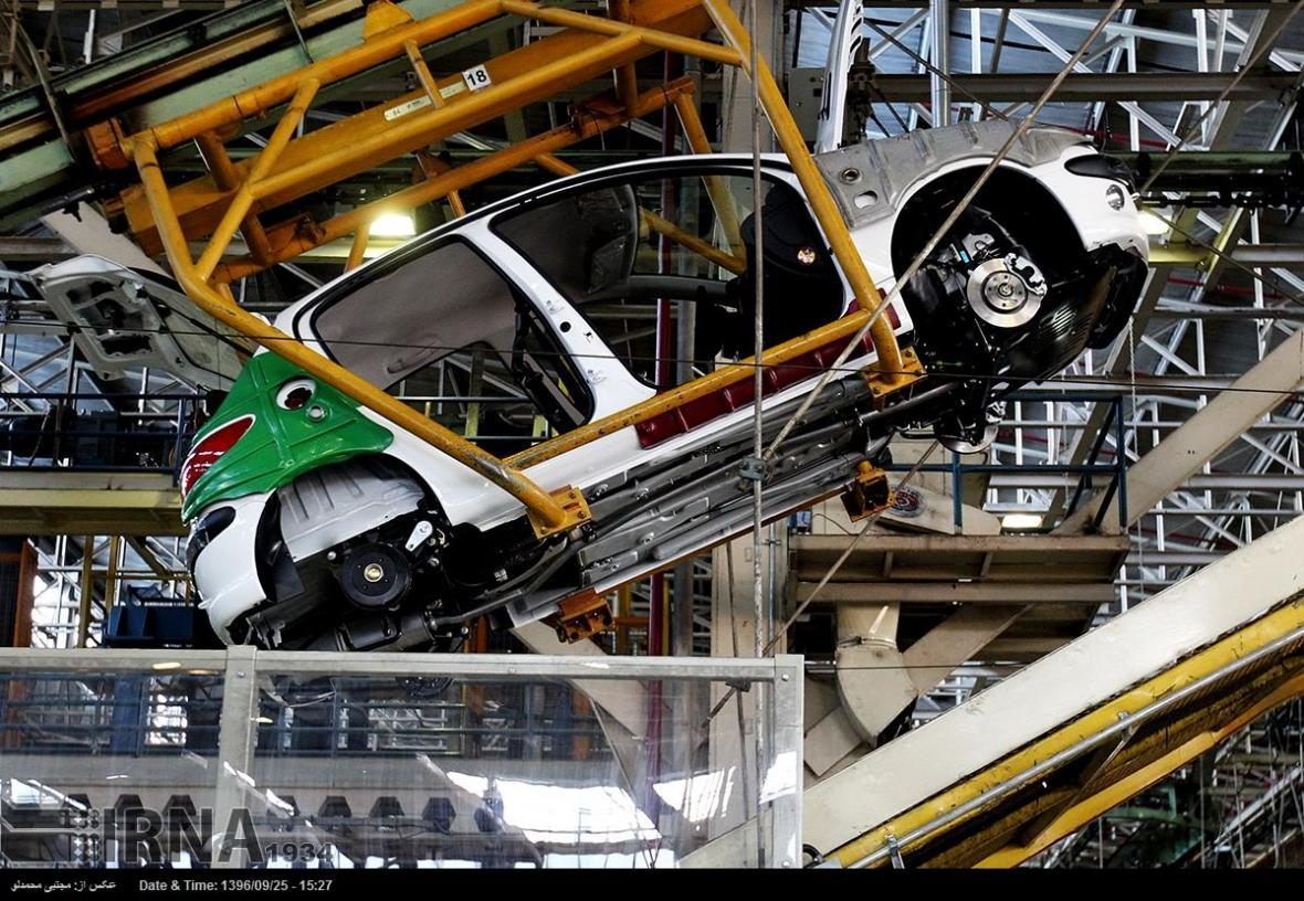 کارنامه تولید 4 ماه اخیر سه خودرو ساز بزرگ ایرانی