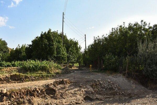 تصاویر ، روستایی با یک خانوار در ملکان