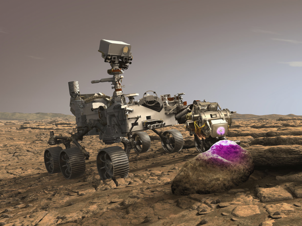 کشف فسیل های مریخ با پرتو ایکس
