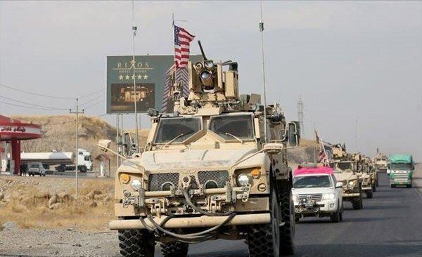 حمله راکتی به کاروان ائتلاف آمریکایی در عراق