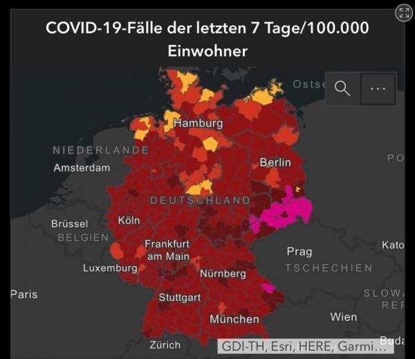 آمار بالای تلفات کرونا با وجود تعطیلات سراسری در آلمان
