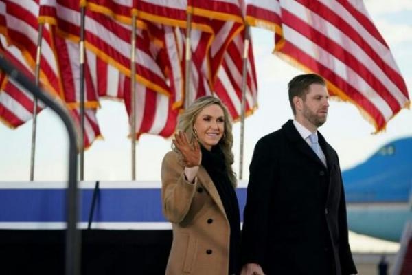 اریک ترامپ شرط بسته بود که پدرش 320 رای الکترال می گیرد