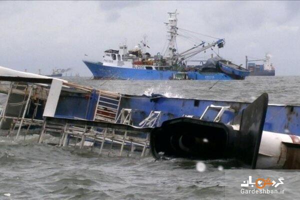 واژگونی کشتی مسافربری با شش کشته در آب های اندونزی